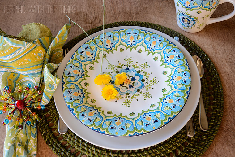 Pier One Tablescape & Pier One Inspired Tablescape - Keeping With The Times