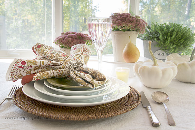 autumn, tablescape, decor, keeping with the times