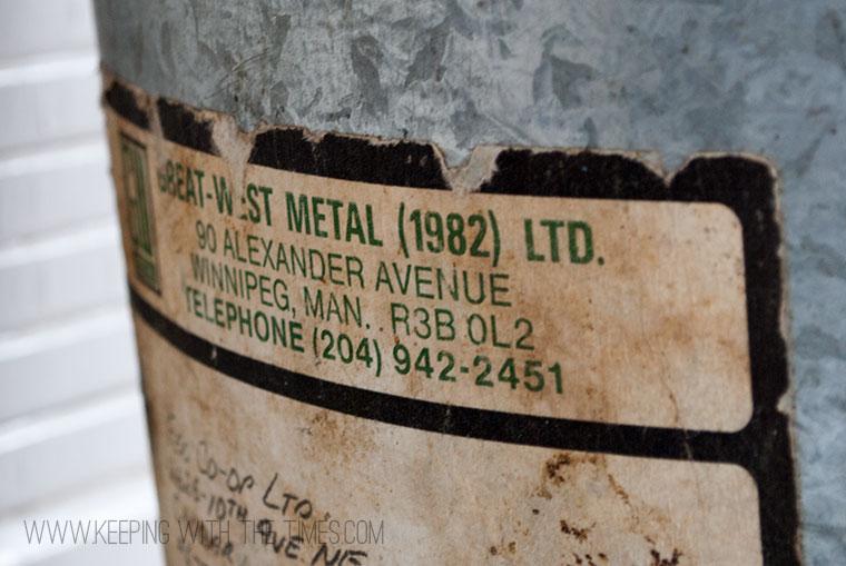 antique pail, one man's treasure