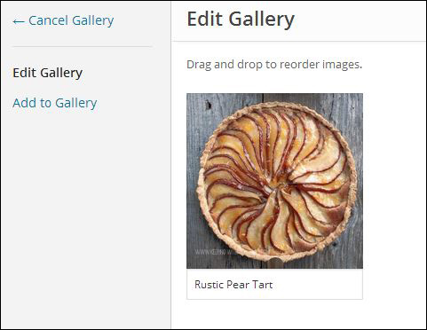 WordPress Gallery Tutorial