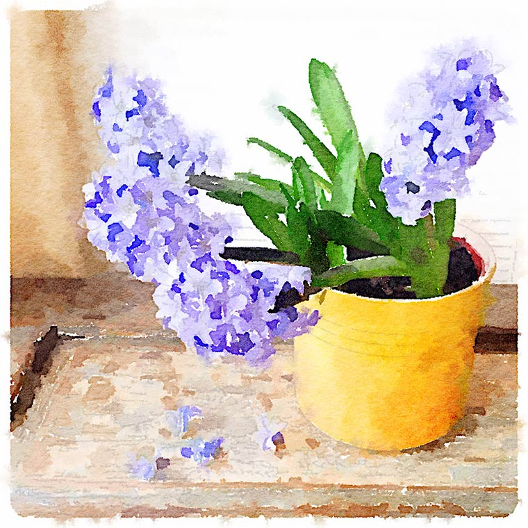 Painted in Waterlogue from {Keeping With the Times}