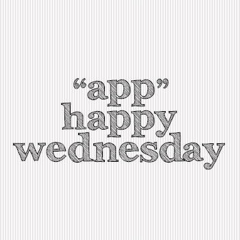 """app"" happy wednesday, linky party, keeping with the times"