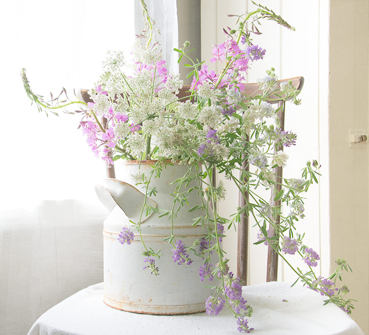 Light and Airy Wildflower Bouquet