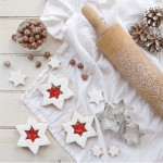 Hazelnut Star Cookies, Keeping With the Times