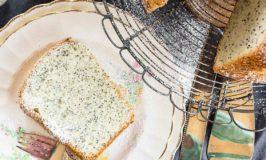 Poppy Seed Chiffon Cake