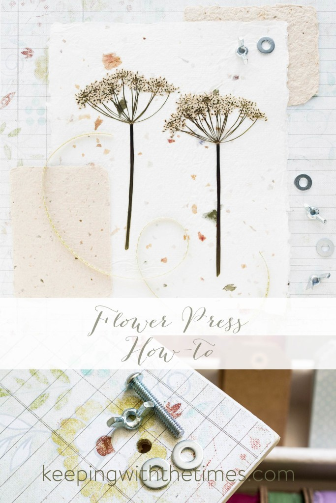 Flower Press How-to, Keeping With the Times