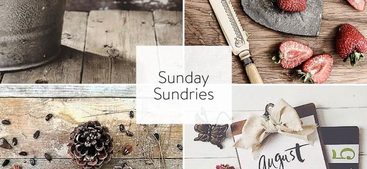 Sunday Sundries