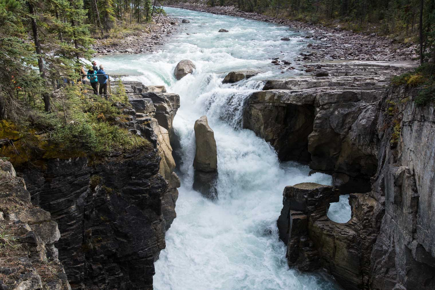 Sunwapta Falls, Keeping With the Times