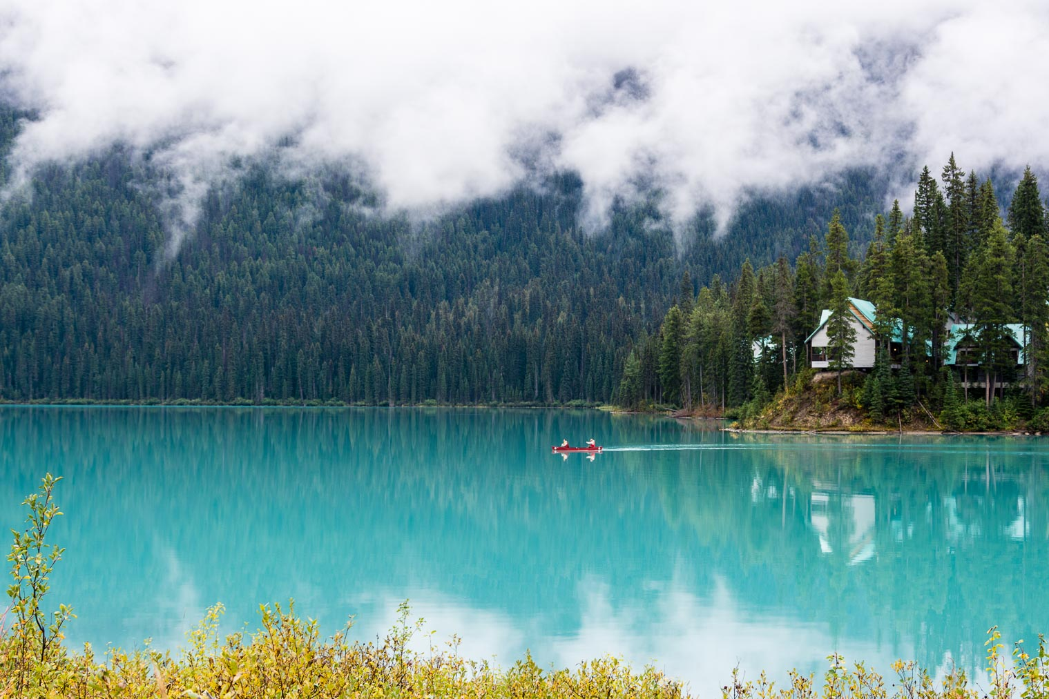 Emerald Lake, British Columbia, Keeping With the Times, Barb Brookbank