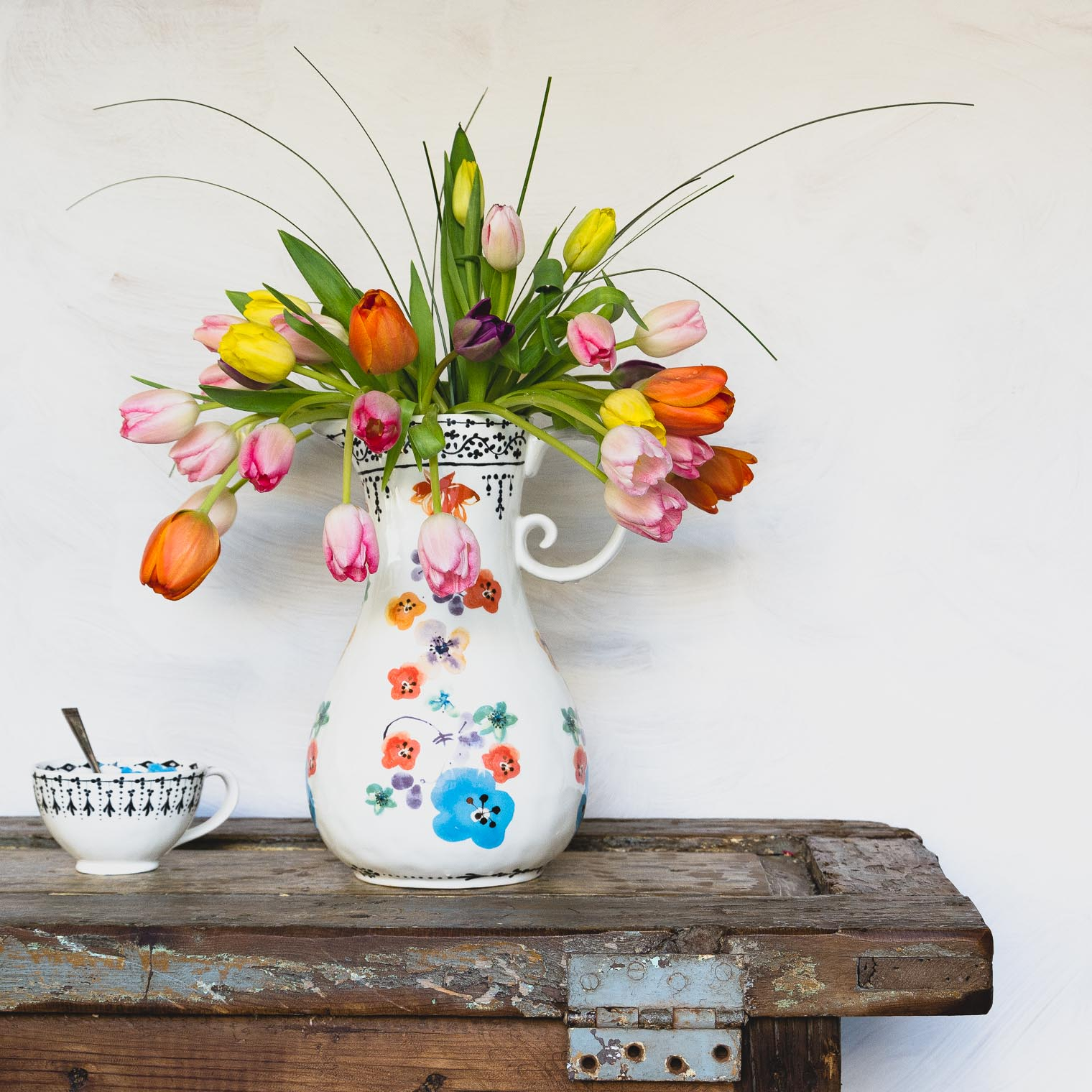 Spring in a Vase, Keeping With the Times