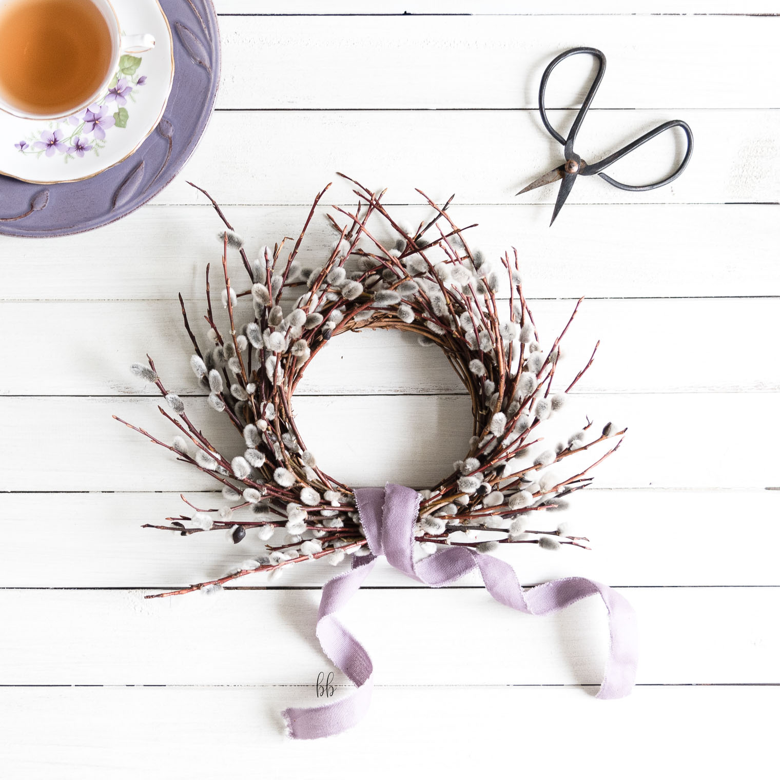 Tiny Willow Wreath DIY, Keeping With the Times