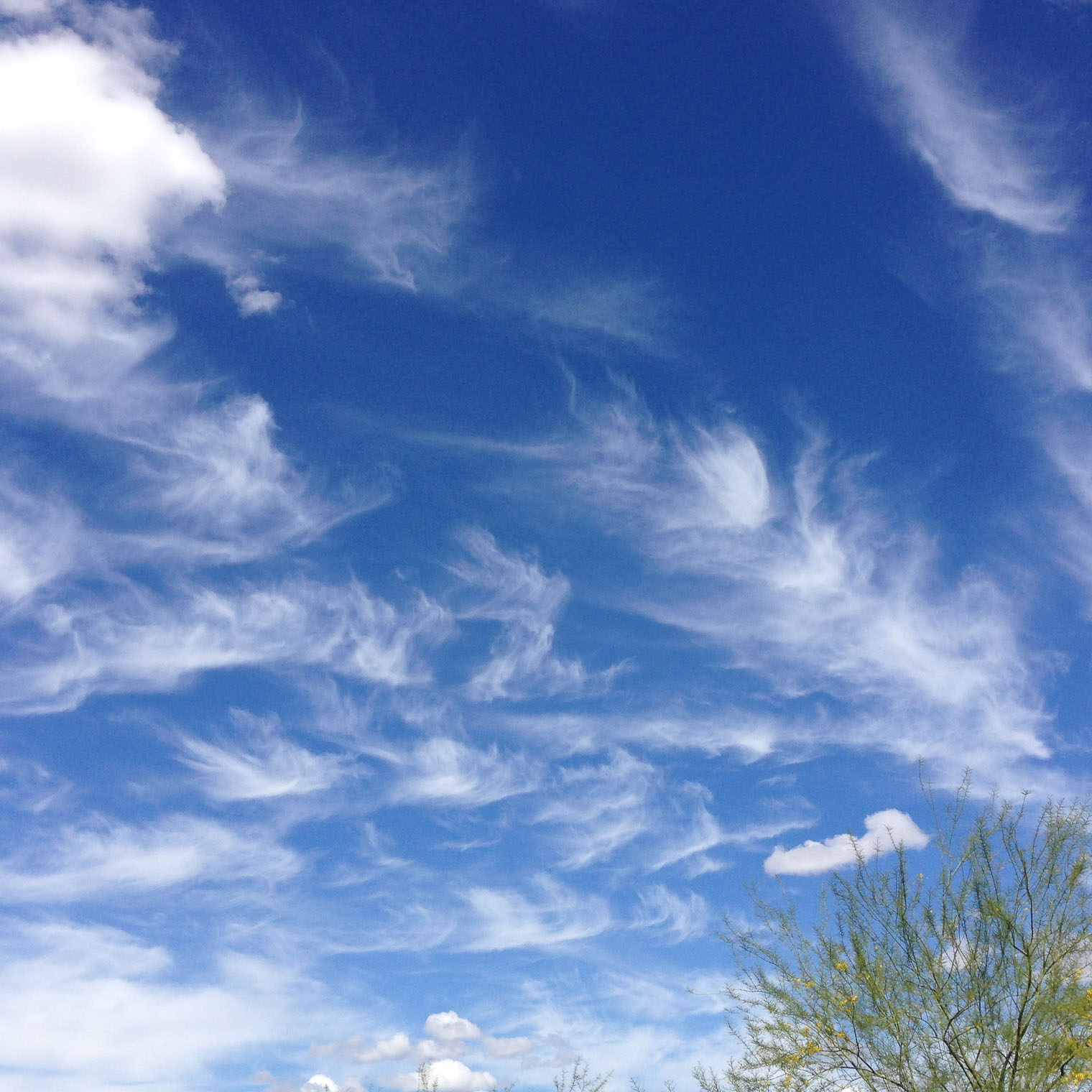 Arizona Skies, Keeping With the Times