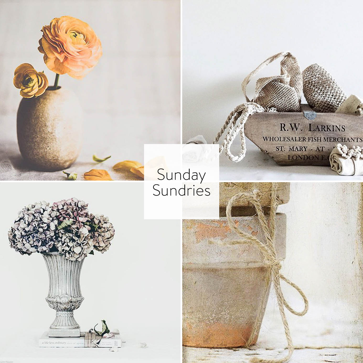Sunday Sundries April 10, Keeping With the Times