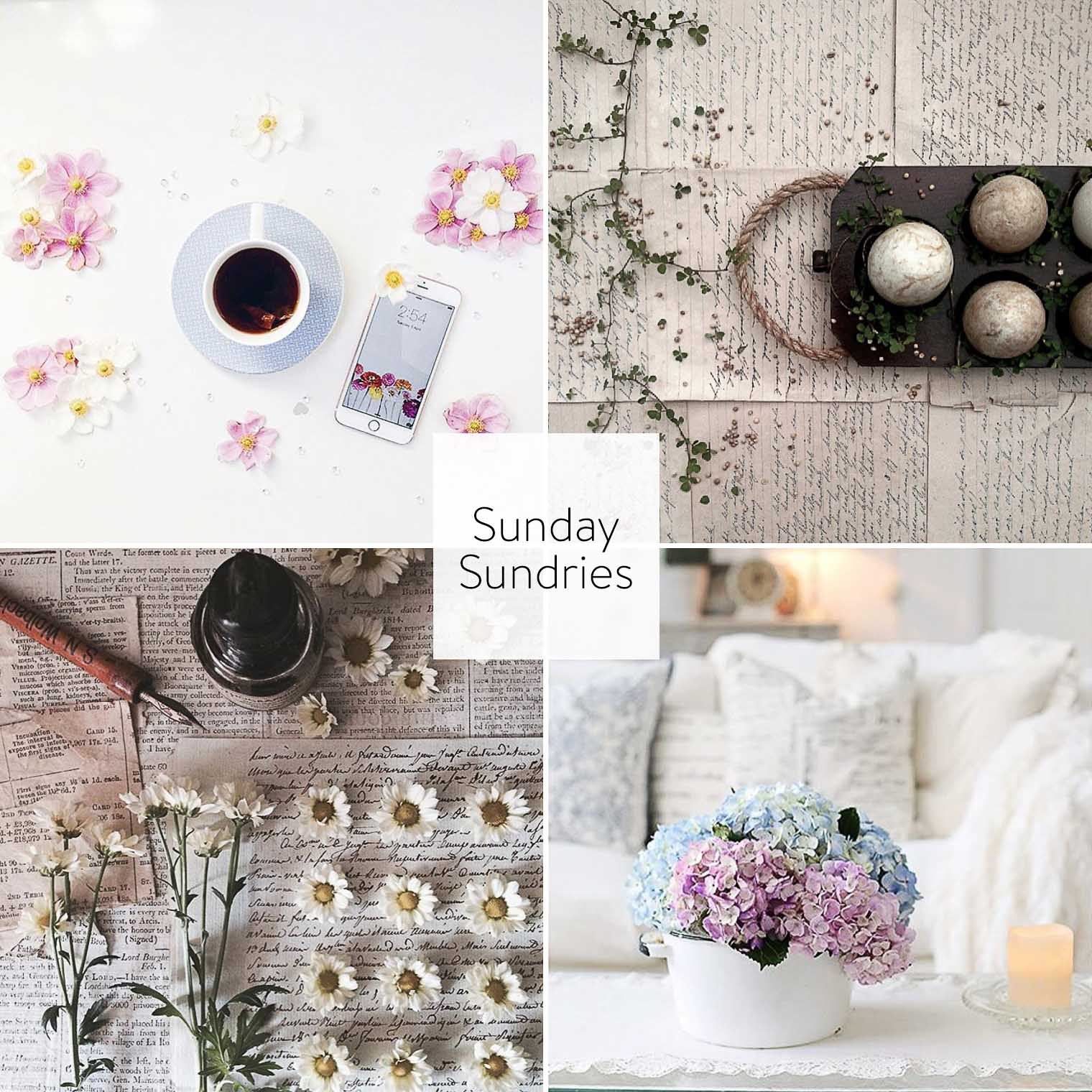 Sunday Sundries April 17, Keeping With the Times