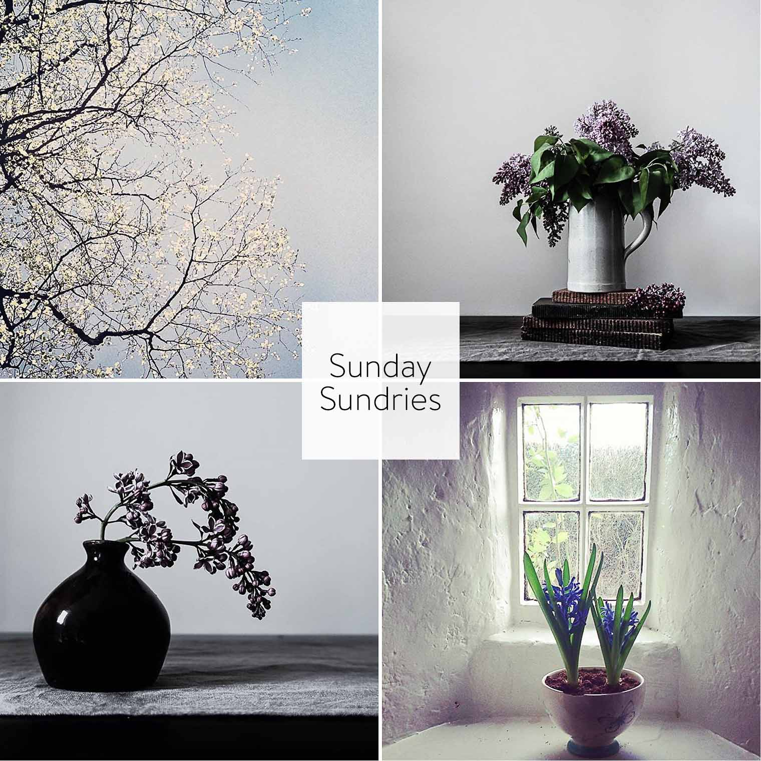 Sunday Sundries Feature May 8, Keeping With the Times