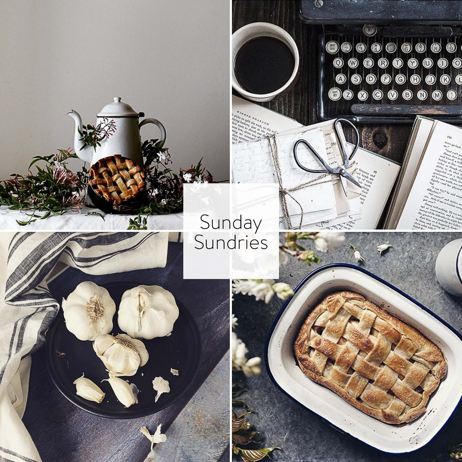 Sunday Sundries Feature May 1, Keeping With the Times