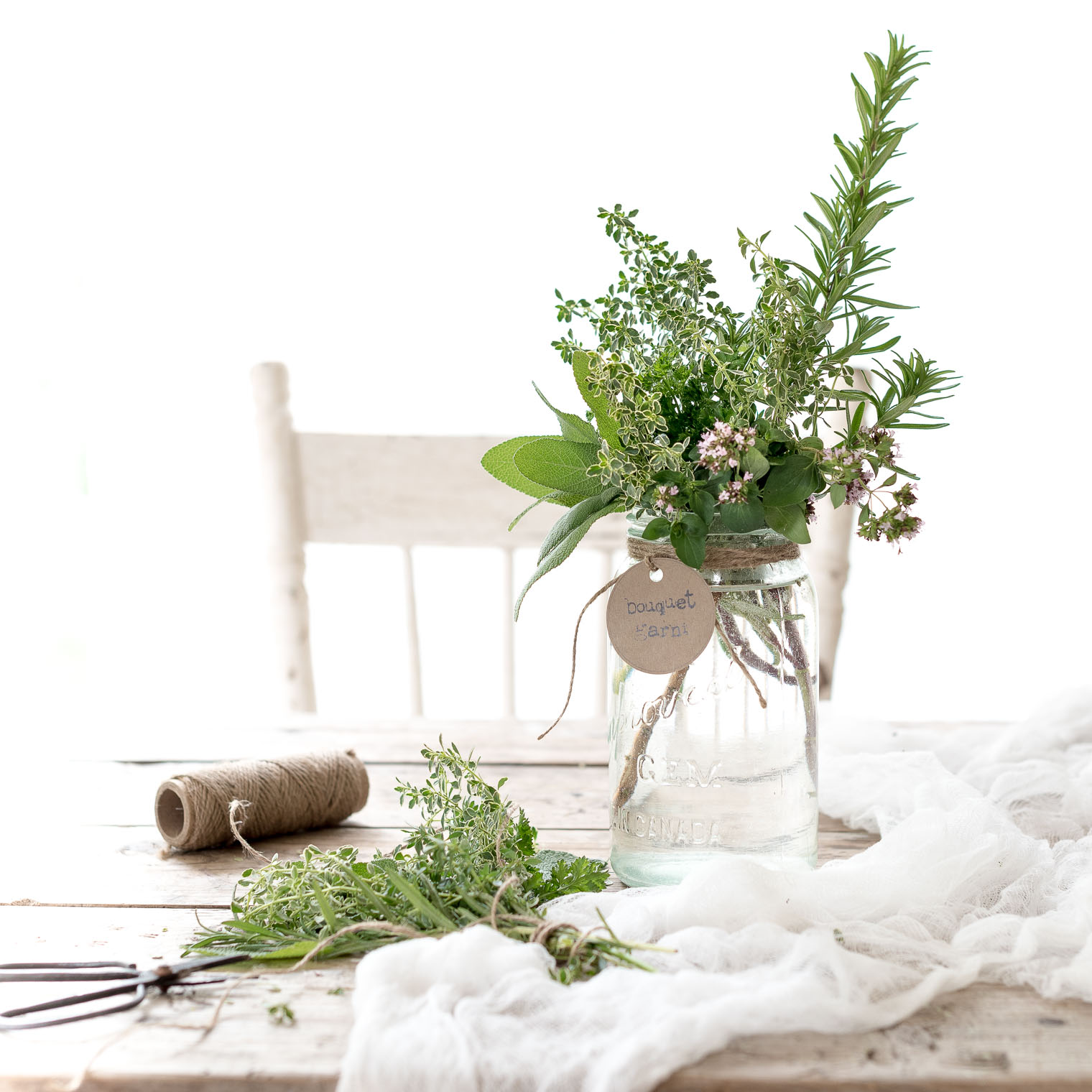 Late Summer Arrangements Idea #2, Beautiful Bouquet Garni, Keeping With the Times