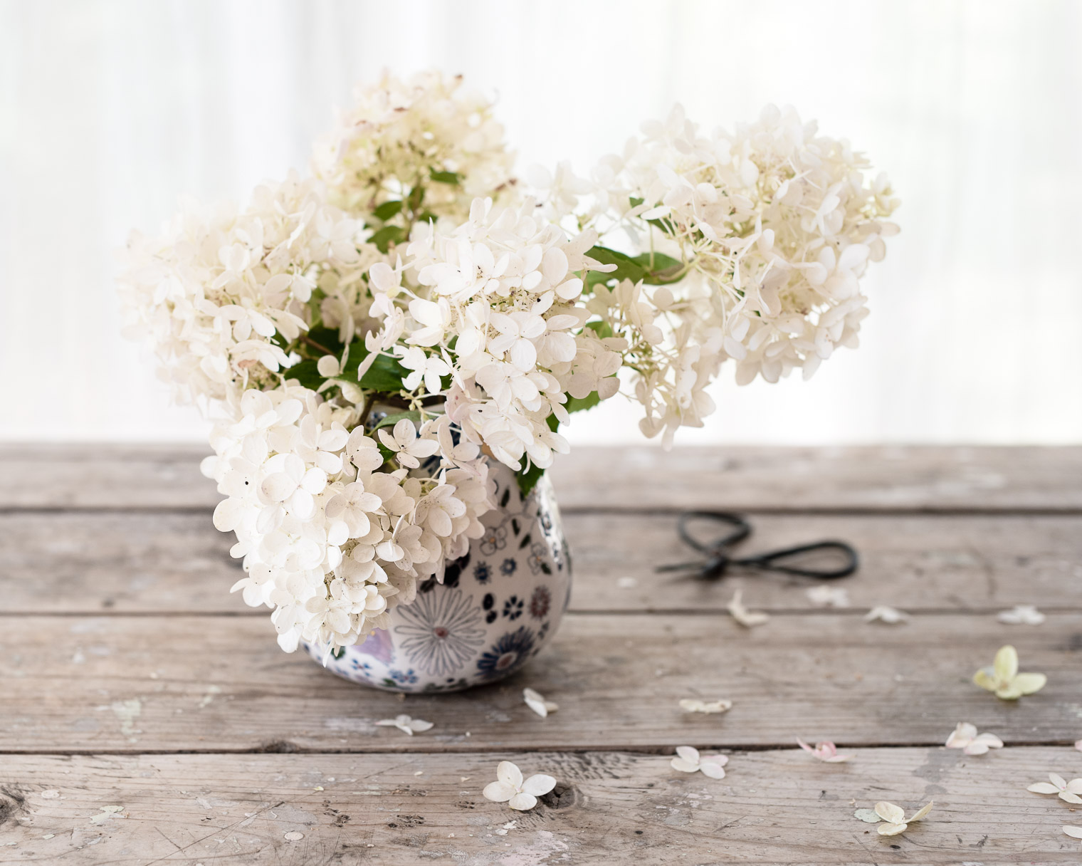 Hydrangea Bouquet, Late Summer Arrangements Idea #3, Hydrangea Heaven, Keeping With the Times