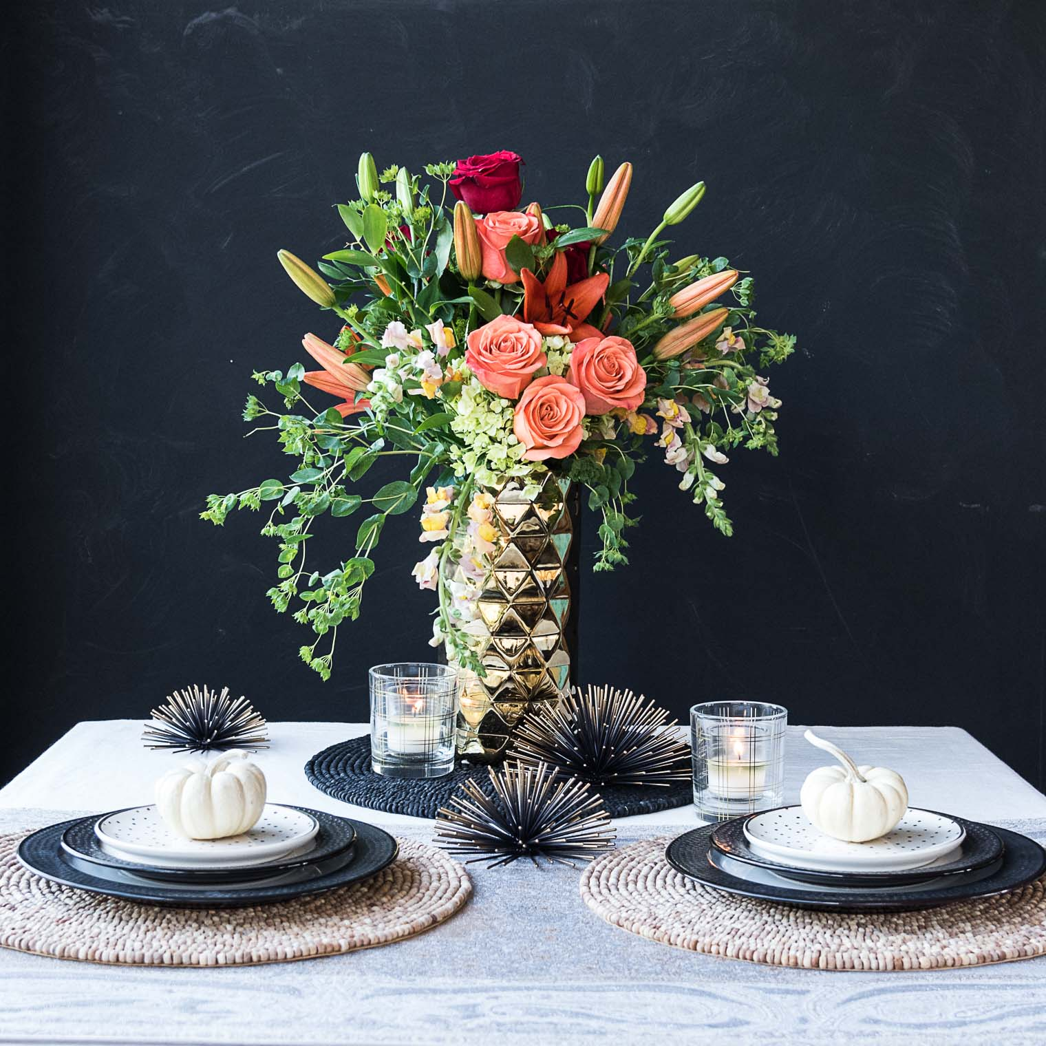 Holiday Tablescape Ideas, Keeping With the Times