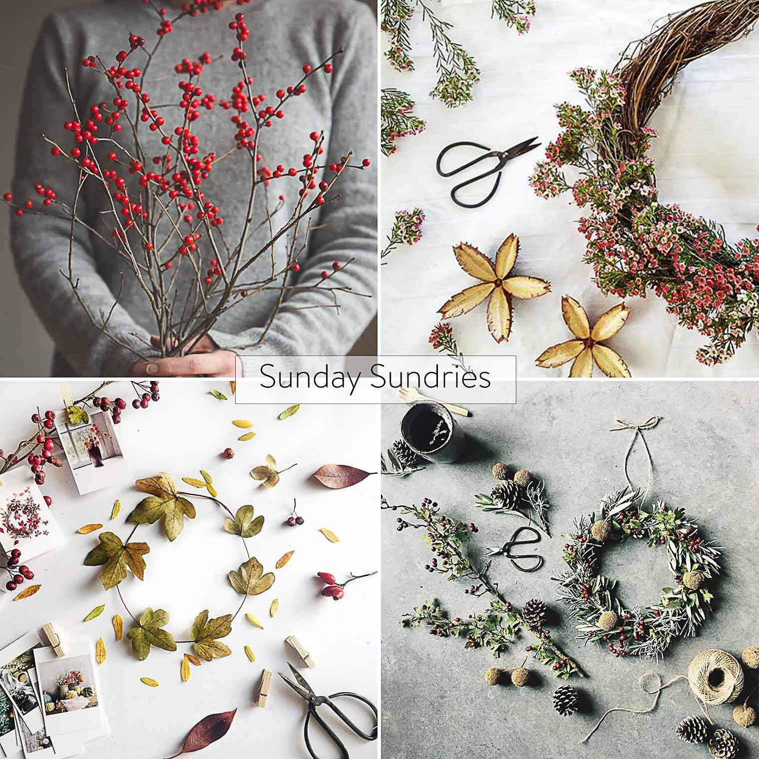 Sunday Sundries Feature November 20th, Keeping With the Times