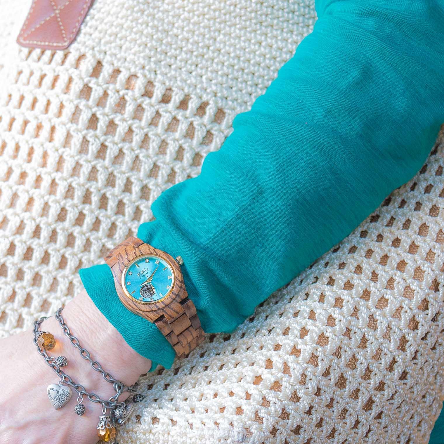 Jord Watches, Wood Watch, Women's Watch, Barb Brookbank