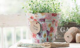 Pretty Easy DIY Herb Pot