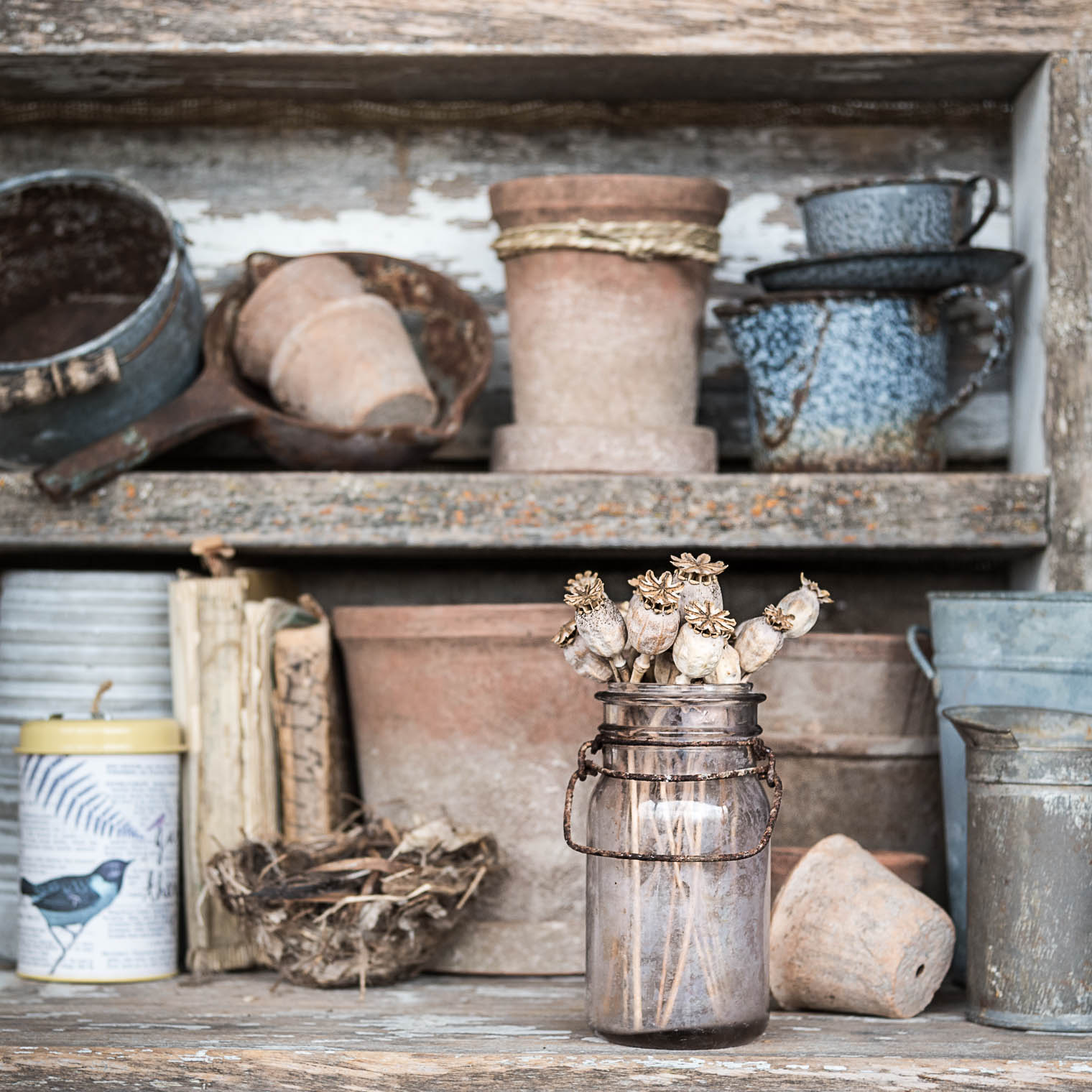 Potting Bench, Barb Brookbank, Keeping With the Times